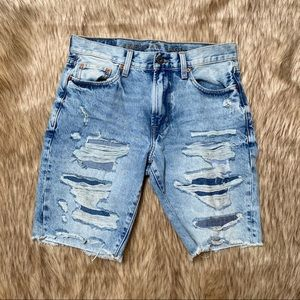 NWT American Eagle Ripped Distressed Denim Shorts